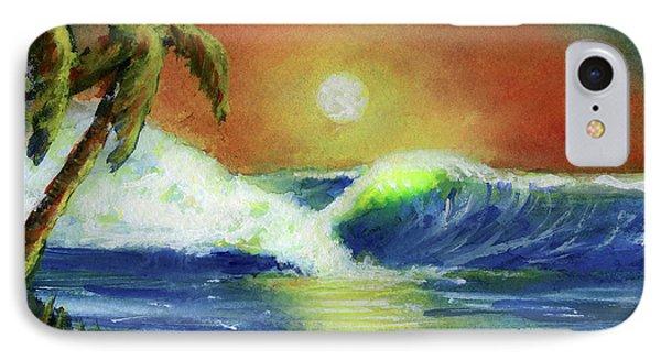 Hawaiian Moon #399 Phone Case by Donald k Hall