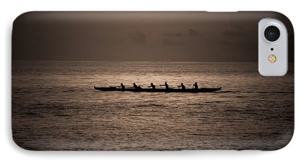 IPhone Case featuring the photograph Hawaiian Outrigger by Kelly Wade