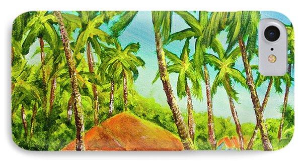 Hawaiian Plantation Home #390 Phone Case by Donald k Hall