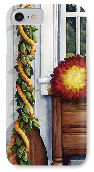 Hawaiian Still Life Panel Phone Case by Sandra Blazel - Printscapes