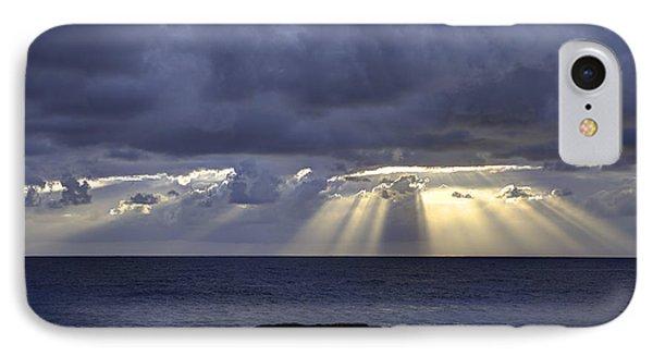 Hawaiian Sunrise Phone Case by Mike Herdering
