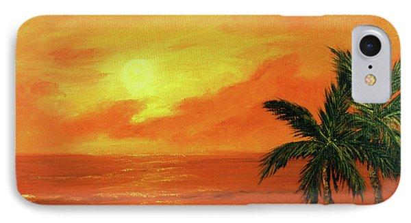 Hawaiian Sunset #27 Phone Case by Donald k Hall