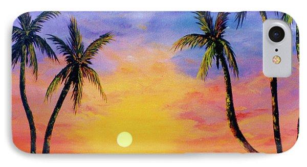 Hawaiian Sunset #36 Phone Case by Donald k Hall