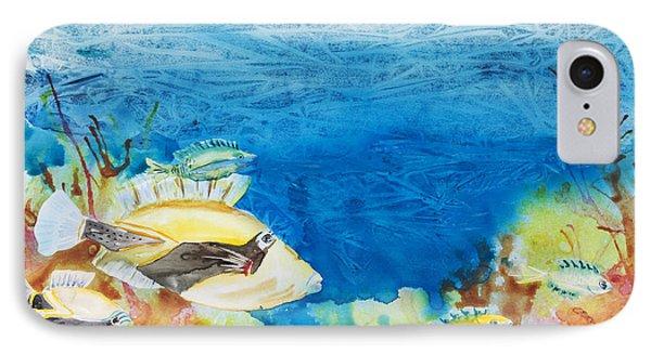 Hawaiian Triggerfish Phone Case by Tanya L Haynes - Printscapes