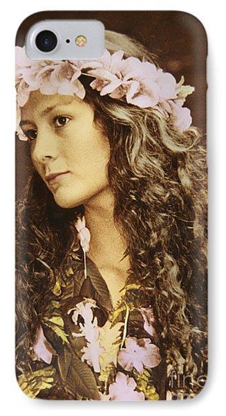 Hawaiian Wahine Phone Case by Himani - Printscapes