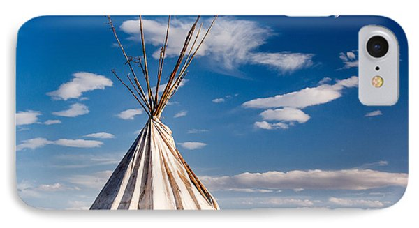 Hawi Tipi IPhone Case by Todd Klassy