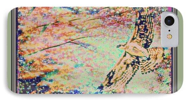 Hawk And Sky IPhone Case by YoMamaBird Rhonda