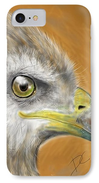 Hawk IPhone Case by Darren Cannell