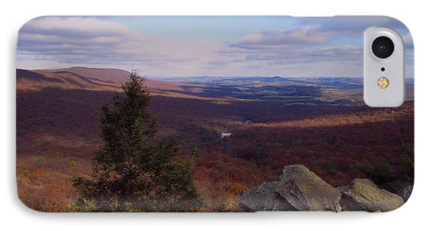 Hawk Mountain Sanctuary IPhone Case by David Dehner