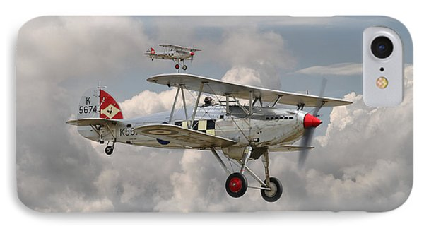 Hawker Fury IPhone Case by Pat Speirs