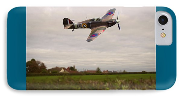 Hawker Hurricane -1 IPhone Case by Paul Gulliver