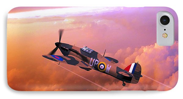 Hawker Hurricane British Fighter IPhone Case by John Wills