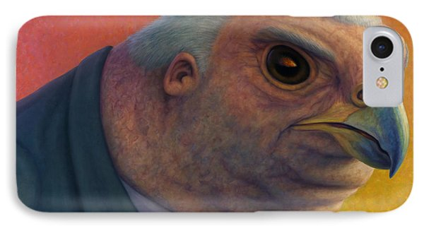 Hawkish Phone Case by James W Johnson