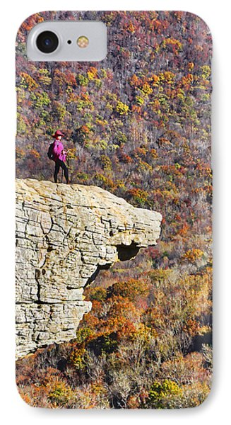 Hawksbill Crag In Autumn Phone Case by Dennis Cox WorldViews