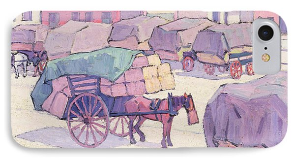 Hay Carts - Cumberland Market IPhone Case