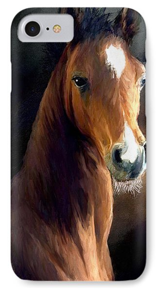 IPhone Case featuring the painting Hay Dude by James Shepherd