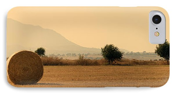 Hay Rolls  IPhone Case by Stelios Kleanthous