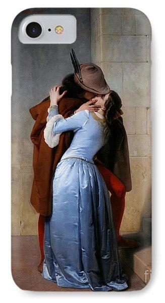 Hayez: The Kiss Phone Case by Granger