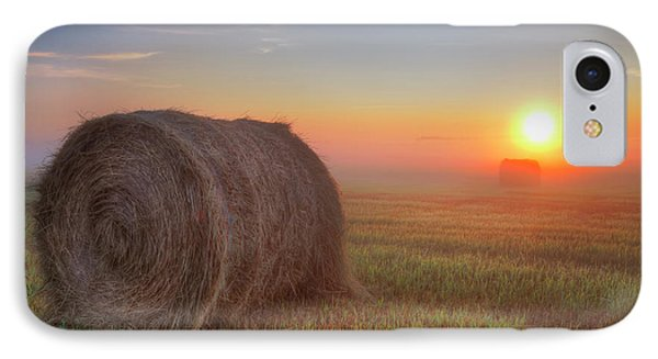 IPhone Case featuring the photograph Hayrise by Dan Jurak