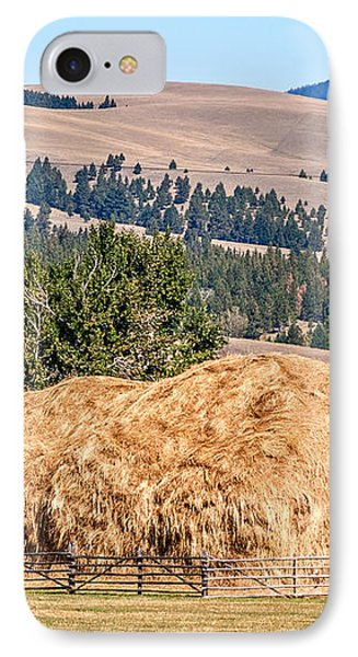 IPhone Case featuring the photograph Haystack Created With A Beaverslide by Sue Smith