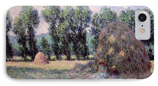 Haystacks IPhone Case by Claude Monet