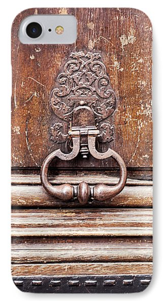 Hazel - Paris Door Photography IPhone Case by Melanie Alexandra Price