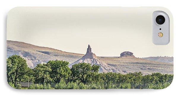 IPhone Case featuring the photograph Hazy Chimney Rock by Sue Smith
