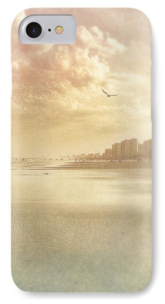 Hazy Day At The Beach IPhone Case