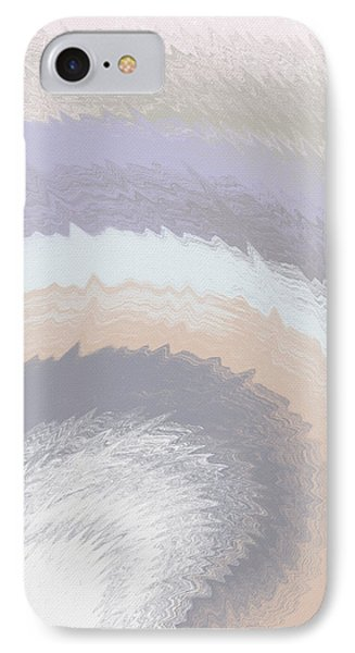 Hazy Morning- Abstract Art By Linda Woods IPhone Case by Linda Woods