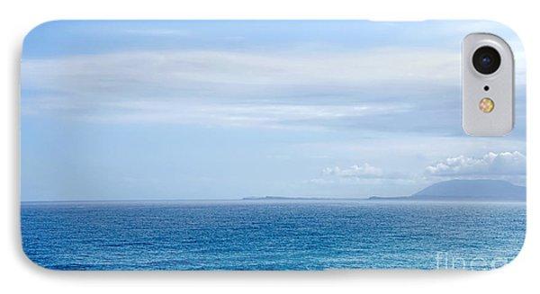 Hazy Ocean View Phone Case by Kaye Menner