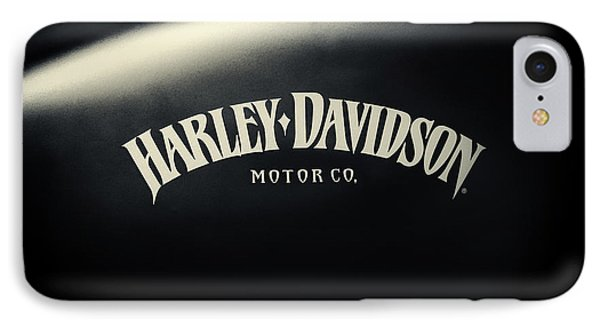 Hd Iron 883 Gas Tank IPhone Case by Tim Gainey