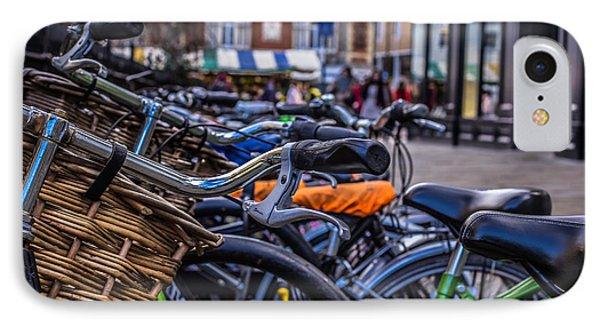 Hdr Bikes IPhone Case by David Warrington