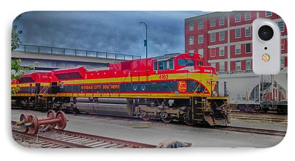 Hdr Fun With Trains Phone Case by Dustin Soph