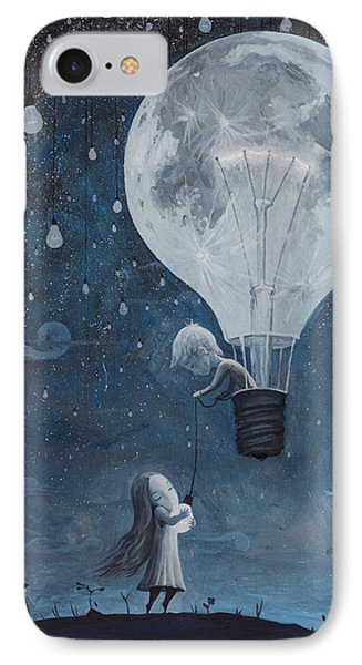 He Gave Me The Brightest Star Phone Case by Adrian Borda