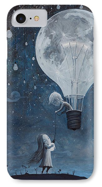 He Gave Me The Brightest Star IPhone Case by Adrian Borda
