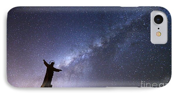 He Held The Stars In The Palm Of His Hand IPhone Case by James Brunker