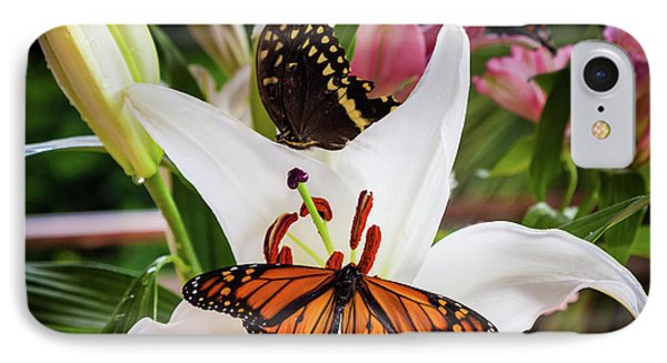 IPhone Case featuring the photograph He Still Gives Me Butterflies by Karen Wiles