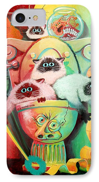 Head Cleaners Phone Case by Baron Dixon