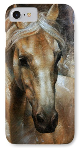 Head Horse 2 Phone Case by Arthur Braginsky