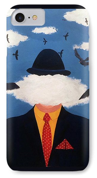 Head In The Cloud IPhone Case by Thomas Blood