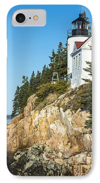 IPhone Case featuring the photograph Head Lighthouse by Anthony Baatz