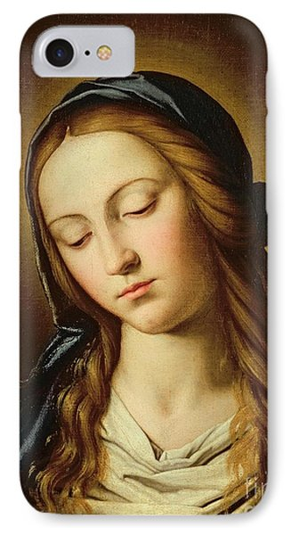 Head Of The Madonna Phone Case by Il Sassoferrato
