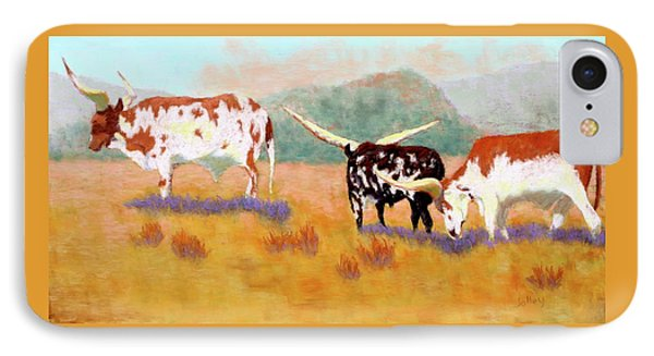 Headed For The Barn IPhone Case by Nancy Jolley