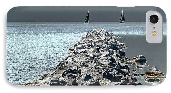 Headed For The Rocks IPhone Case