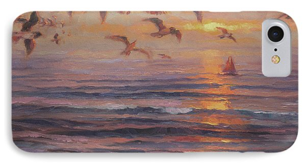 Seagull iPhone 7 Case - Heading Home by Steve Henderson