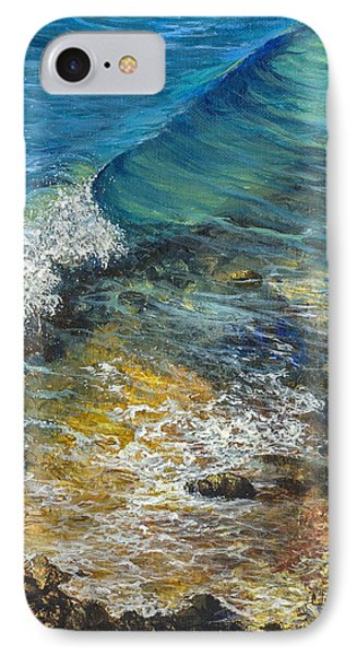 IPhone Case featuring the painting Heading Out To Sea by Darice Machel McGuire