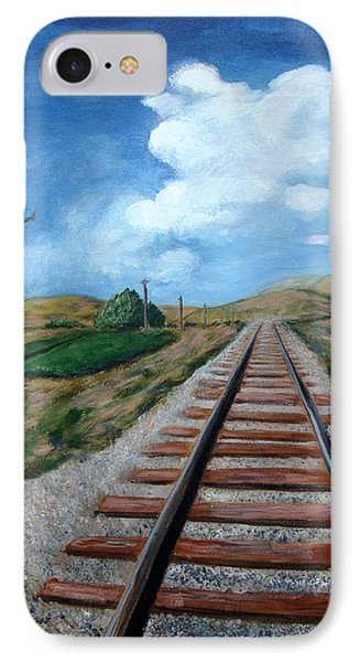 Heading West IPhone Case by Laurie Morgan