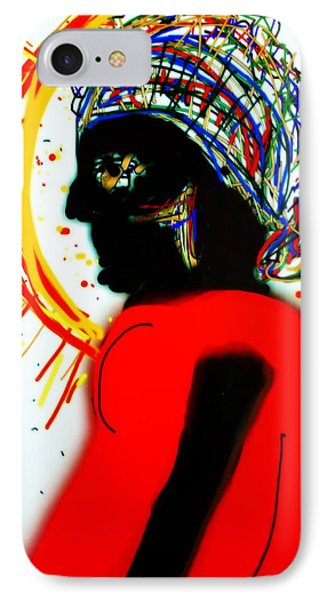 Headscarf IPhone Case by Kathy Barney