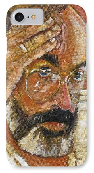 IPhone Case featuring the painting Headshot by Gary Coleman