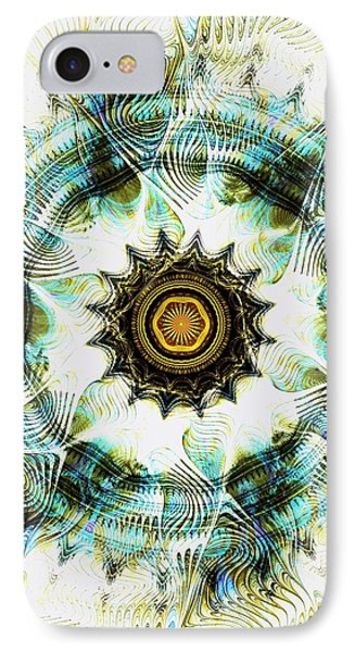 IPhone Case featuring the digital art Healing Energy by Anastasiya Malakhova